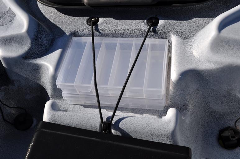 2 malettes boîtes à leurres compartimentées.