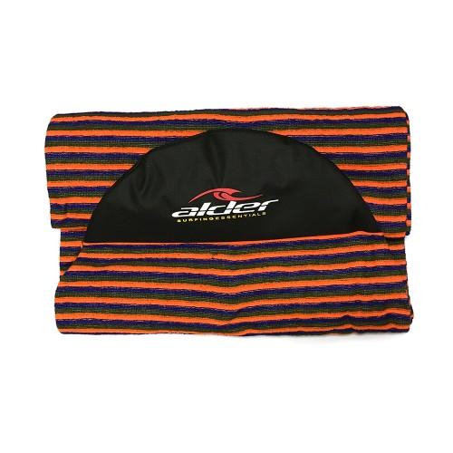 Housse chaussette de surf alder 8 39 6 orange la housse for Housse de planche de surf