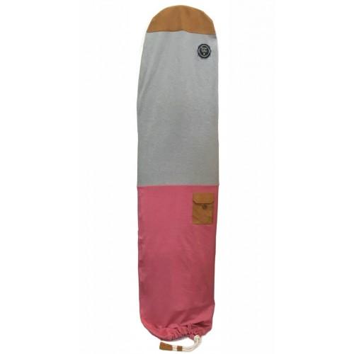 Housse de surf roses des vents gris rose la housse de for Housse de planche de surf