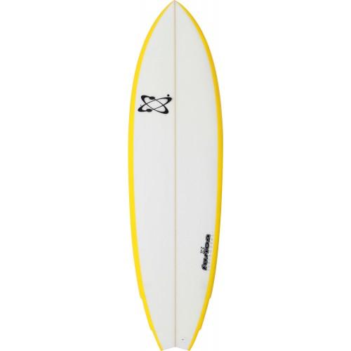 planche de surf fusion fish 6 39 3 jaune surfer avec un fish n 39 a jamais t aussi facile comme. Black Bedroom Furniture Sets. Home Design Ideas
