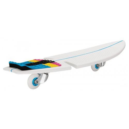 Skate ripsurf razor blanc - Planche skate razor ripsurf inspiree par la planche de surf ...