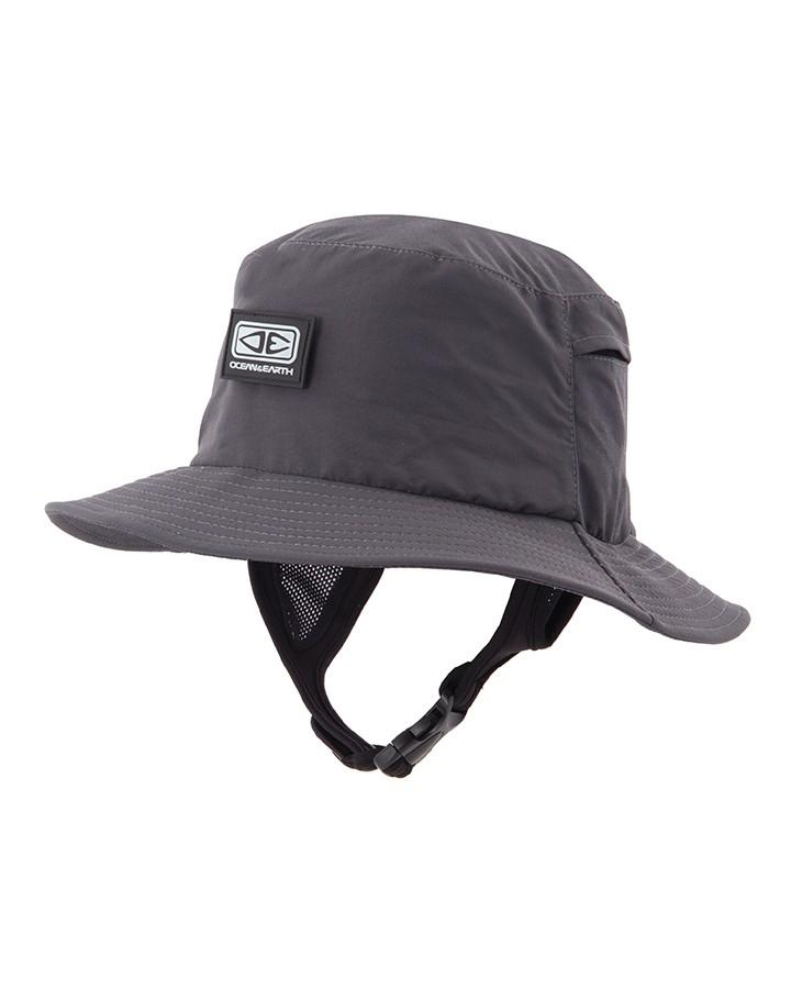 mode guetter acheter pas cher Chapeau / Bob pour surfer Ocean & earth (Noir)