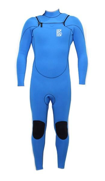 combinaison de surf body sen no sen 5 4 3 mm electric blue. Black Bedroom Furniture Sets. Home Design Ideas