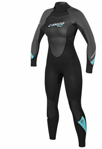 combinaison de surf femme c skins surflite 4 3mm enfin une combinaison de surf pas cher. Black Bedroom Furniture Sets. Home Design Ideas