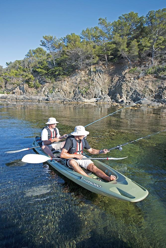 kayak bic trinidad fishing   le kayak de p u00eache avec beaucoup d u0026 39 espace et de rangement