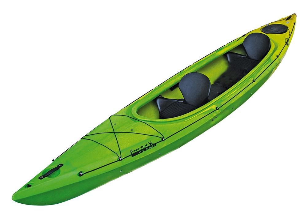 Cano dag freeland luxe le cano deux places parfait pour faire du cano en - Kayak de mer 2 places ...