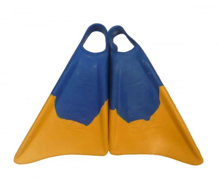 Palmes Bodyboard Churchill Makapuu (Jaune/Bleu)