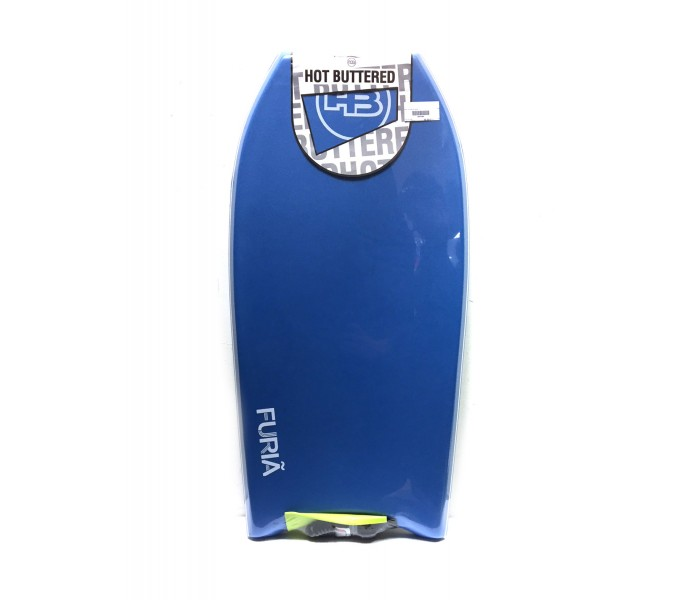Bodyboard HB Hot Buttered Furia 39 EPS (Bleu) + Leash