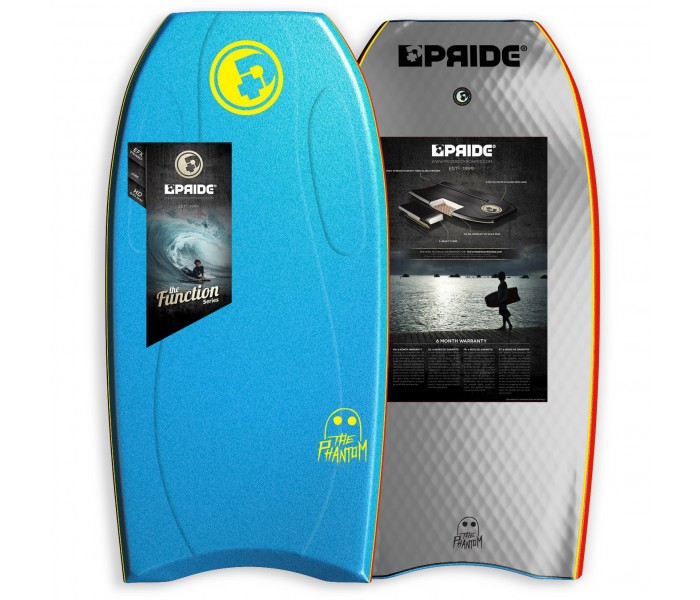 Bodyboard Pride Phantom S-REACT/PE HD 44 (Royal Bleu)