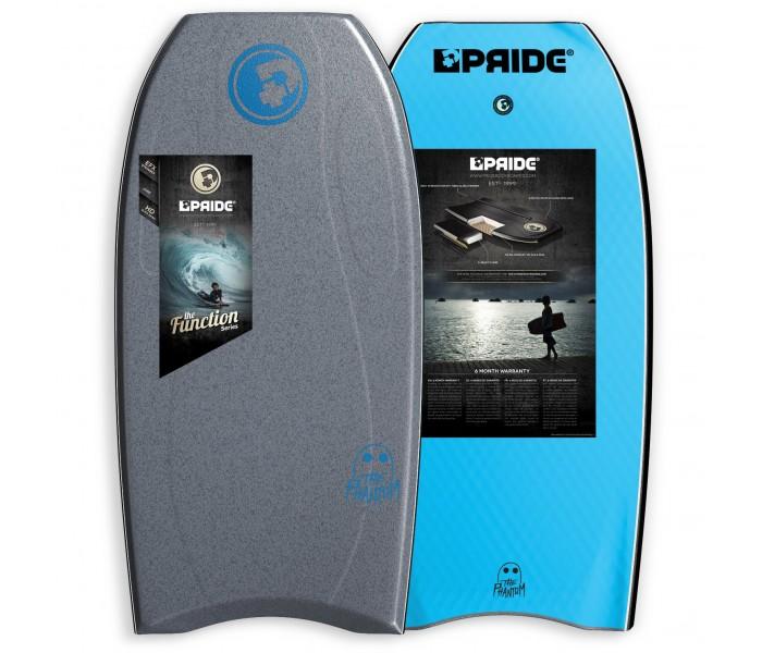 Bodyboard Pride Phantom S-REACT/PE HD 38 (Gris)