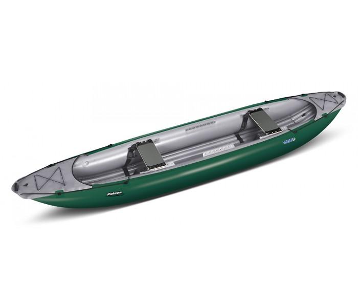 Canoé gonflable Gumotex Palava (vert)