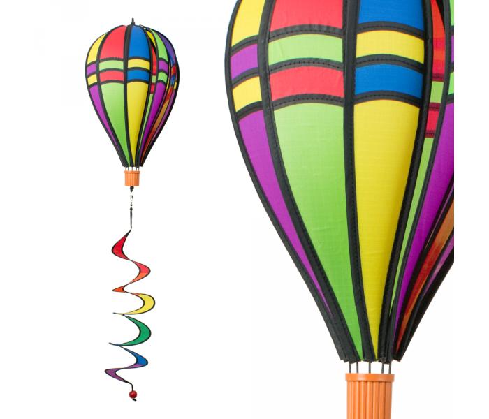 Montgolfiere moulin à vent Satorn Balloon Twister Retro