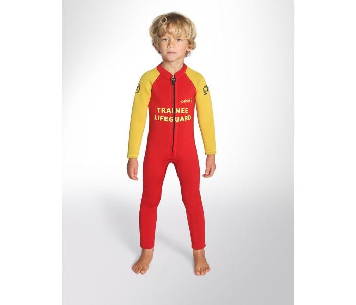 Combinaison pour enfants C-Skins C-KID Rouge (3/2 mm)