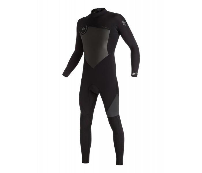 Combinaison de surf Quiksilver Syncro 5/4/3 mm Back-Zip (Noire)