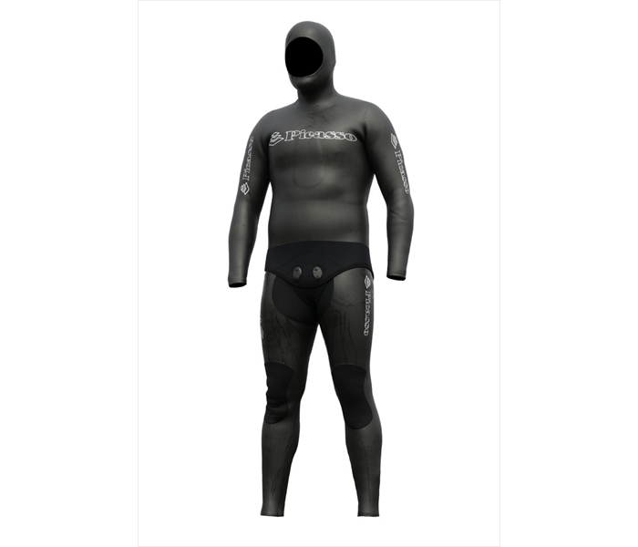 Combinaison Picasso Thermal Skin 7mm (Black)