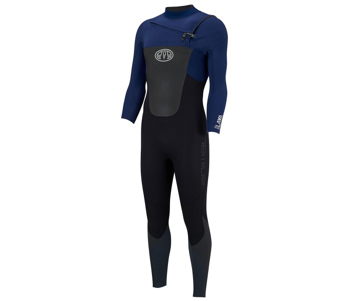 Combinaison de surf Animal Lava 4/3 mm Bleu (FrontZip)