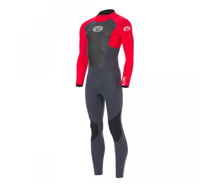 Combinaison de surf Animal Lava 3/2 mm (BackZip) Rouge