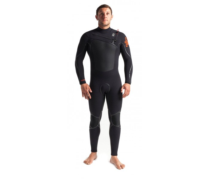 Combinaison de surf C-skins Wired 5/4 mm Front-zip (Diamond)