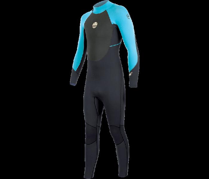 Combinaison de surf enfant Alder Stealth 5/4/3 mm (Bleu)