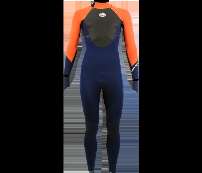 Combinaison de surf enfant Alder Stealth 5/4/3 mm (Orange)