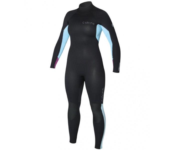 Combinaison de surf femme C-skins Surflite 4/3 mm