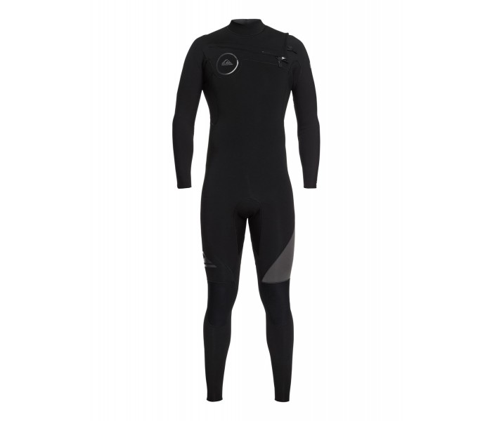 Combinaison de surf Quiksilver Syncro 5/4/3 mm GBS Front-Zip (Noire)