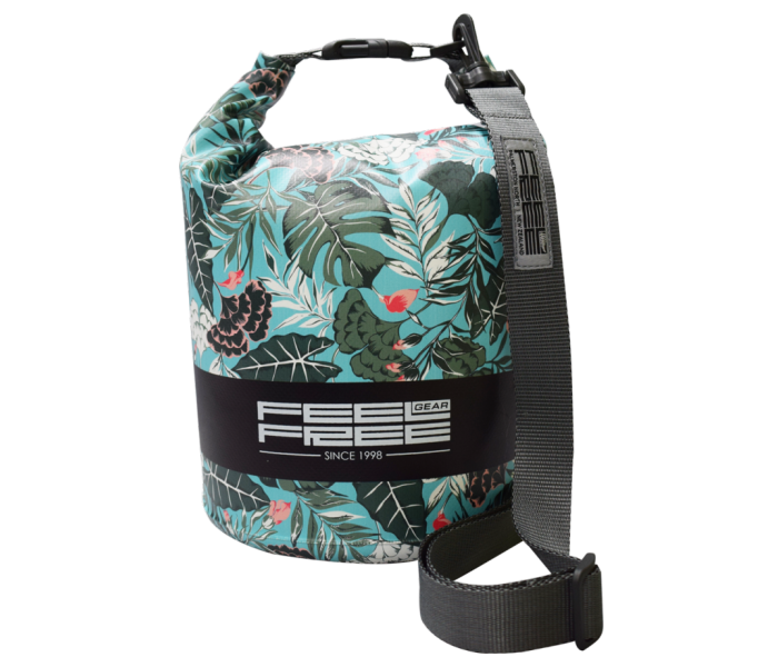 Sac Etanche Feelfree Mini Tube Green Tropical (3L.)