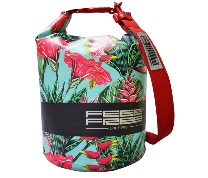 Sac Etanche Feelfree Mini Tube Teal Tropical (3L.)