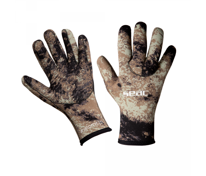 Gants Seac Anatomic Camo Brown 3 mm