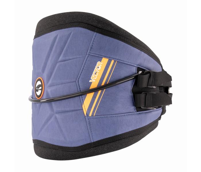 Harnais ceinture Kitesurf et windsurf Prolimit Vector (Acier/Orange)