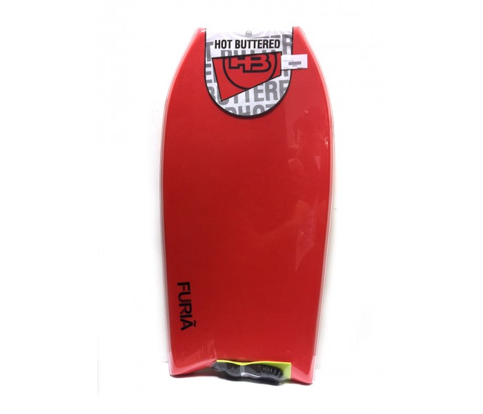 Bodyboard HB Hot Buttered Furia 39 ST EPS (Bleu) + Leash
