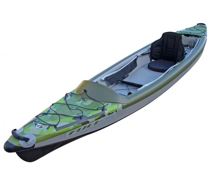 Kayak Bic Yakkair Full HP Fishing (Haute pression pêche)