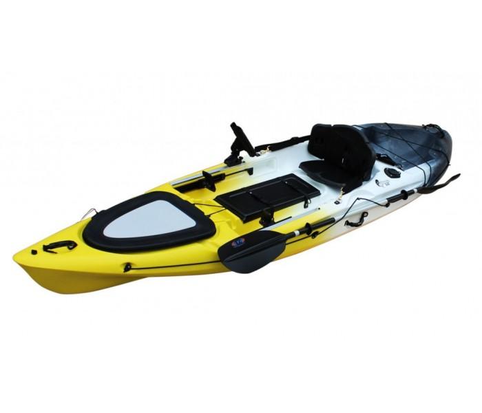 Kayak RTM Abaco 360 Standard Big Bang (+ Pagaie + Siège Hi-confort) (Couleur Wasp: Gris et Jaune)