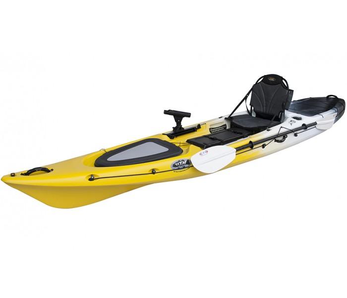 Kayak RTM Abaco 420 Premium (+ Pagaie fibre + Fauteuil) (Couleur Wasp: Gris et Jaune)