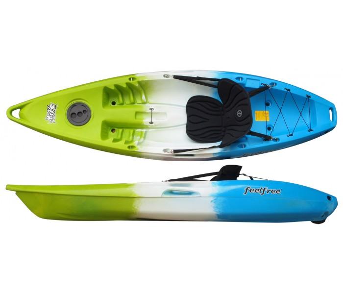 Kayak Feelfree Move (Ice Cool: Vert/Blanc/Bleu) + Siège