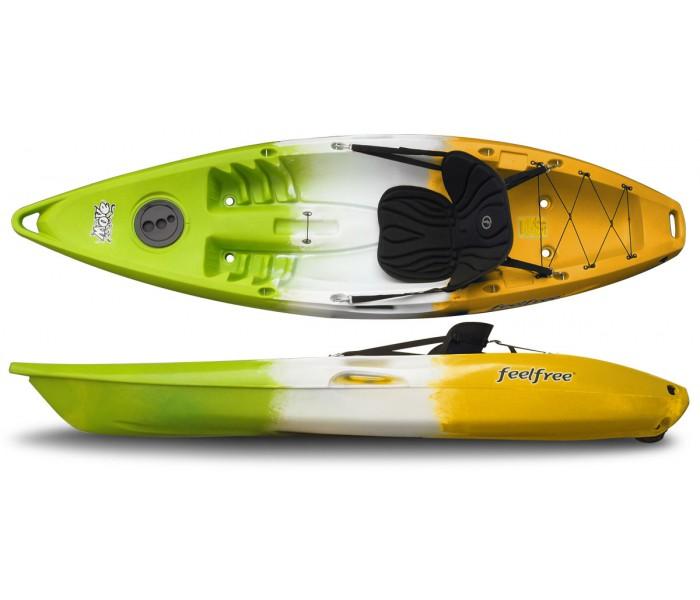 Kayak Feelfree Move (Melon : Vert/Blanc/Jaune) + Siège