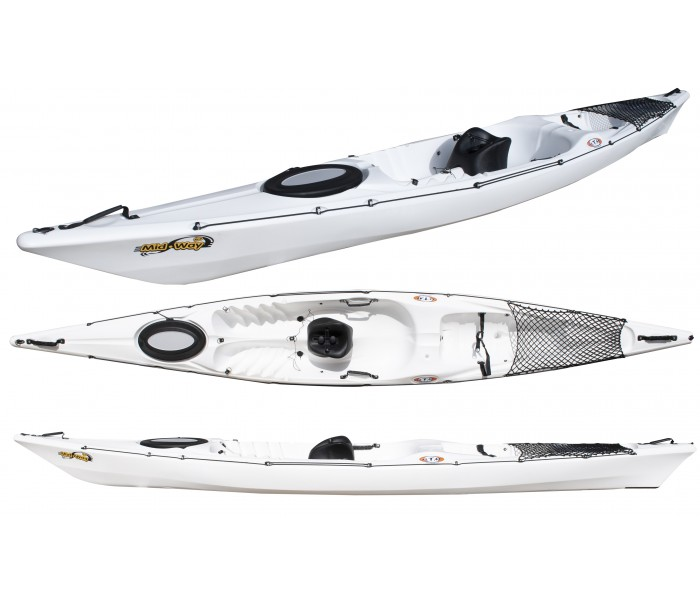 Kayak RTM Midway Luxe (Couleur : Blanc)