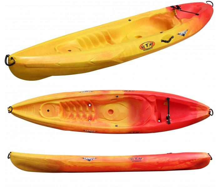 Kayak RTM Tango Evo (Couleur Soleil : Jaune et Orange)