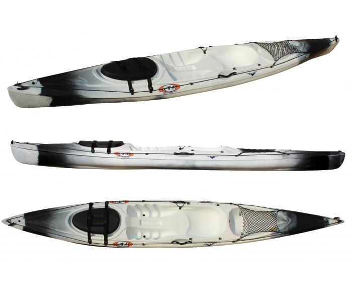 Kayak RTM Tempo (Couleur Storm : Gris et Noir)