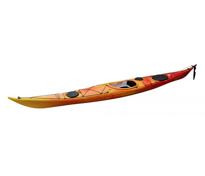 Kayak RTM Ysak Hi-Luxe avec gouvernail (Couleur : Soleil)