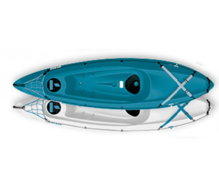 Kayak Tahe Bic Bilbao (Couleur : Blanc dessus / bleu dessous)