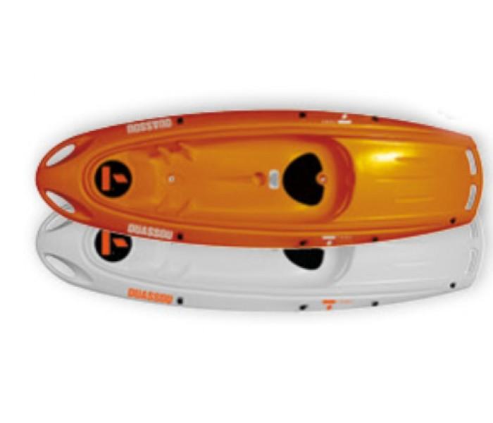 Kayak Bic Ouassou (Couleur : Blanc dessus / Orange dessous)
