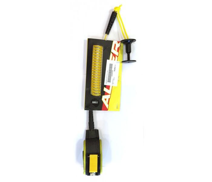 Leash de bodyboard Alder poignet (Jaune)