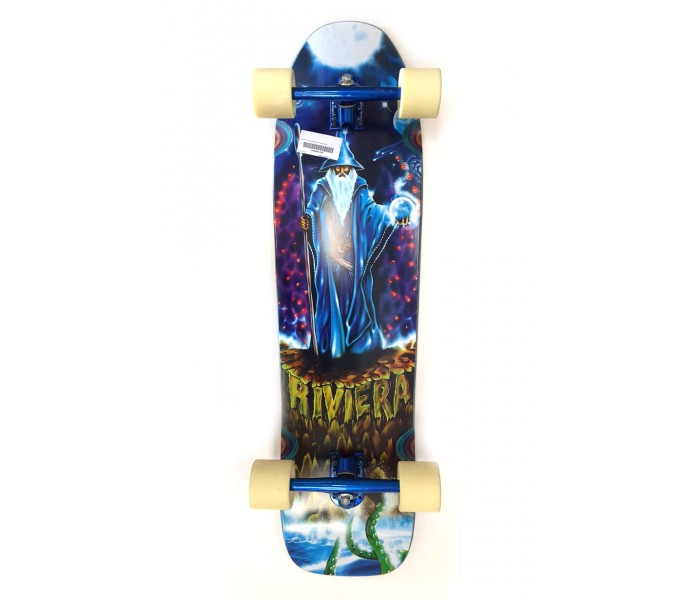 Longskate Riviera Magician Longboard Tail