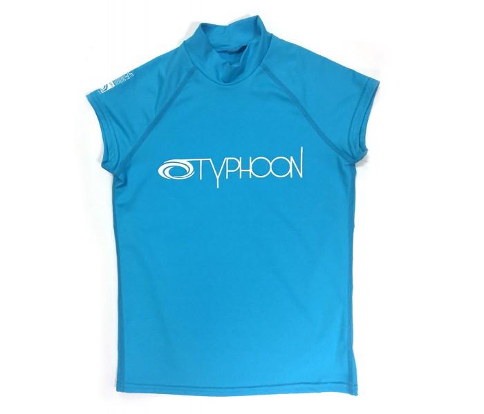 Lycra UV enfant manches courtes (Turquoise)