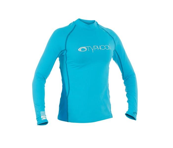 Lycra UV femme manches longues (Bleu)