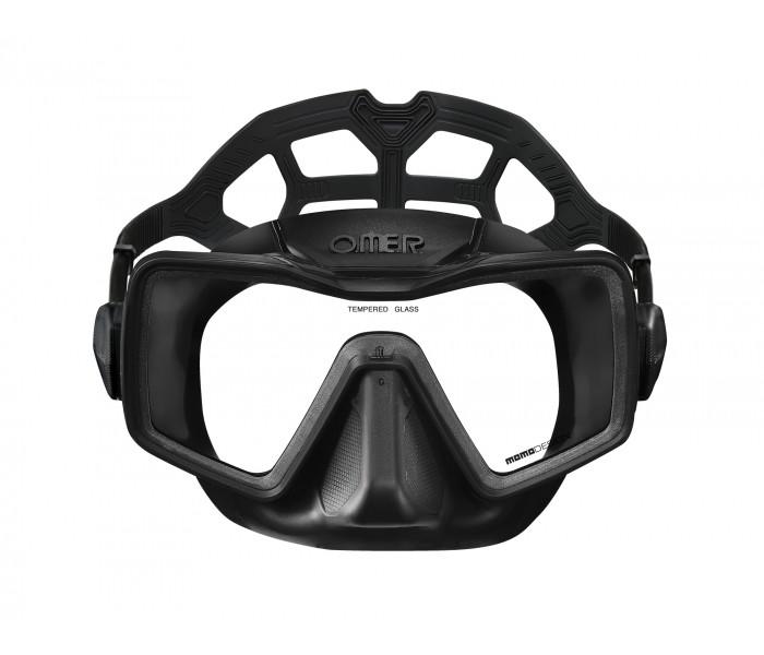 Masque Omer Apnea silicone (Noir)