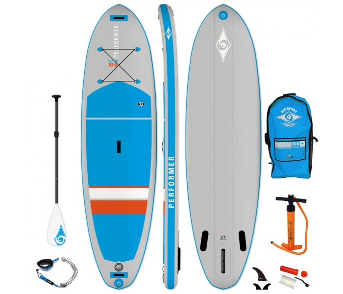 Pack SUP Paddle gonflable Bic 10'6 Performer Air + Pagaie + Leash 2019