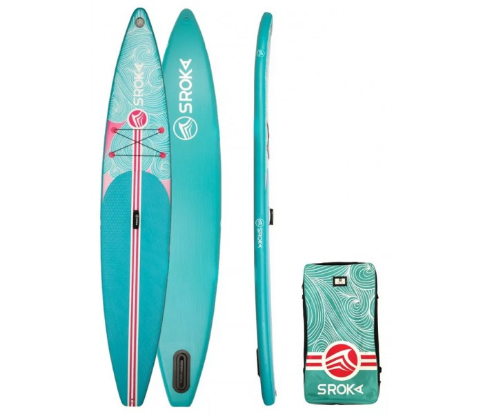Paddle gonflable Sroka Girly 12'6 x 28