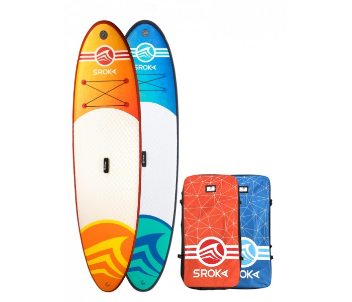 Paddle gonflable Sroka Malibu 10'6 Fusion Orange